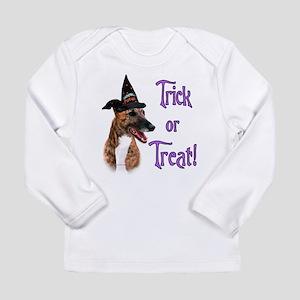 GreyhoundbrindleTrick Long Sleeve Infant T-Shi