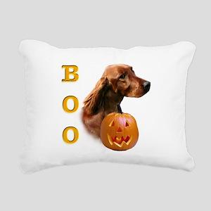 IrishSetterBoo2 Rectangular Canvas Pillow