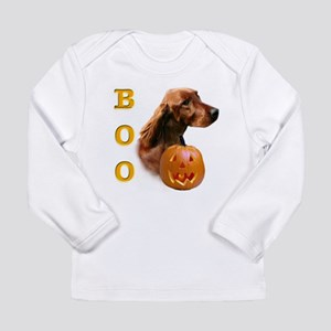 IrishSetterBoo2 Long Sleeve Infant T-Shirt