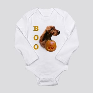 IrishSetterBoo2 Long Sleeve Infant Bodysuit