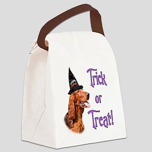 Irish SetterTrick Canvas Lunch Bag