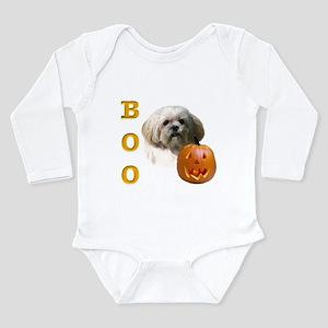 LhasaBoo2 Long Sleeve Infant Bodysuit