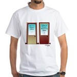 Office of Totally Worthless Ideas White T-Shirt