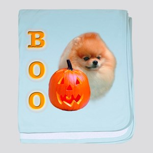 PomeranianBoo2 baby blanket
