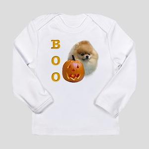 PomeranianBoo2 Long Sleeve Infant T-Shirt