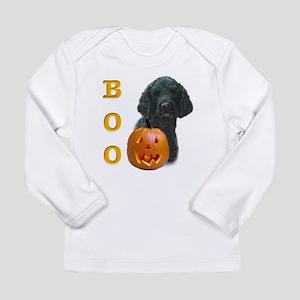PoodleblackBoo2 Long Sleeve Infant T-Shirt