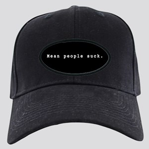 Mean People Suck Black Cap