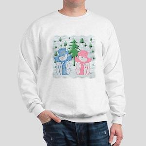 Snow Scene Sweatshirt