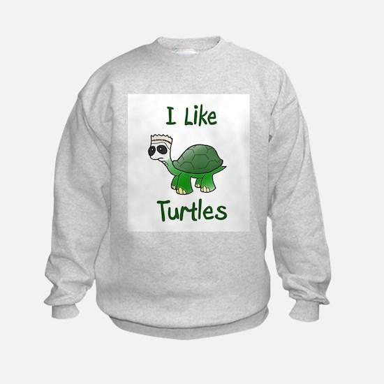 i like turtles Sweatshirt
