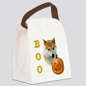 ShibaBoo2 Canvas Lunch Bag