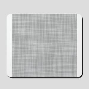 Grey Crosshatch Mousepad