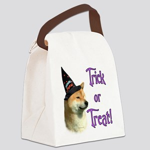 Shiba InuTrick Canvas Lunch Bag