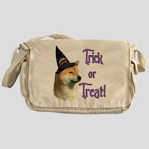 Shiba InuTrick Messenger Bag