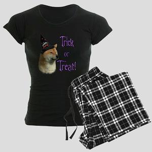 Shiba InuTrick Women's Dark Pajamas