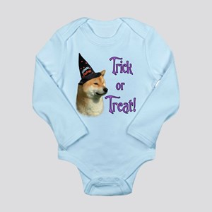 Shiba InuTrick Long Sleeve Infant Bodysuit