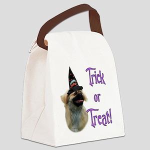 Tibetan SpanielTrick Canvas Lunch Bag