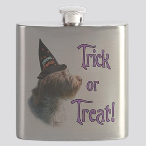 Wirehaired GriffTrick Flask