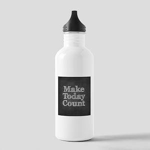 Chalkboard with Mot... Water Bottle