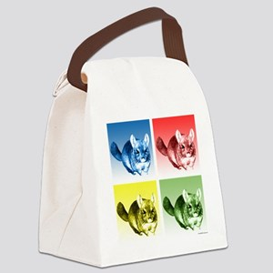 ChinchillaPop Canvas Lunch Bag