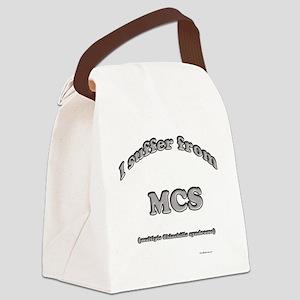 ChinchillaSuffer Canvas Lunch Bag