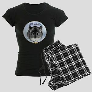 Chin(standard)Portrait Women's Dark Pajamas