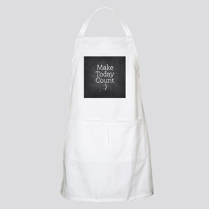 Chalkboard Make Today Count Apron