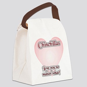 ChinchillaLoveYou Canvas Lunch Bag