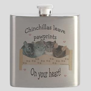 Chinpawprintsdark Flask