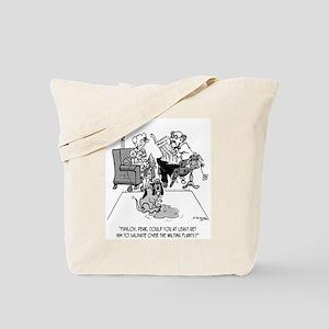 Pavlov's Dog Waters Plants Tote Bag