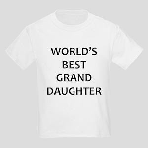 Worlds Best Granddaughter T-Shirt