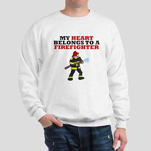 My Heart Belongs To A Firefighter Jumper