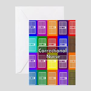 Correctional Nurse 6 Greeting Cards