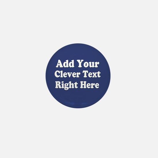 Add Text Background Blue Mini Button