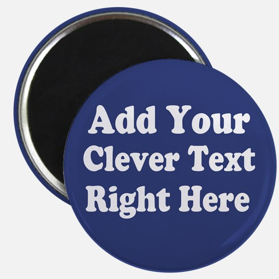 Add Text Background Blue Magnets