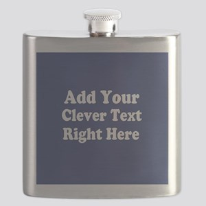 Add Text Background Blue Flask