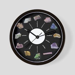 Rock Hound's clock Wall Clock