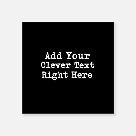 Add Text Background Black Sticker