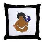 BLANKET BABY Throw Pillow