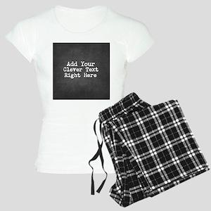 Chalkboard template Pajamas