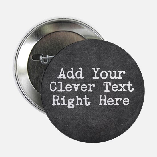 "Chalkboard template 2.25"" Button"