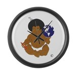 BLANKET BABY Large Wall Clock
