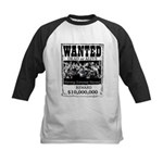 Best in Texas Wanted TEE Baseball Jersey