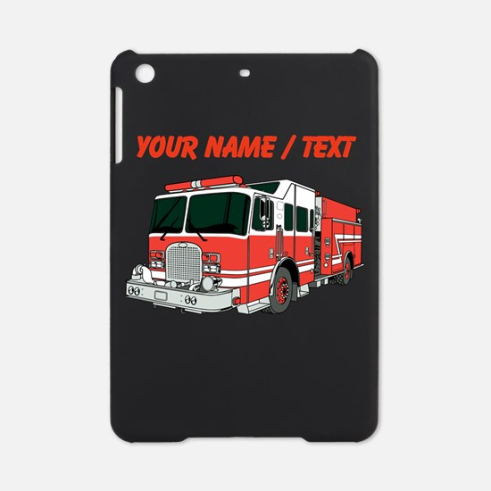 Custom Red Fire Truck iPad Mini Case