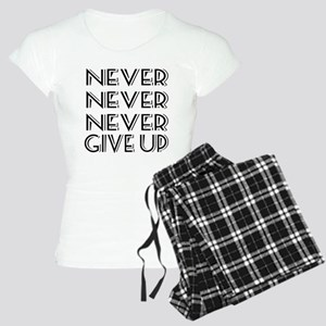 Never Give Up Women's Light Pajamas