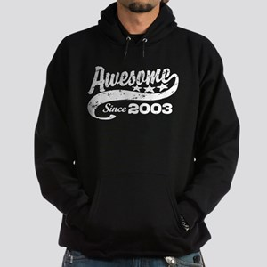 Awesome Since 2003 Hoodie (dark)