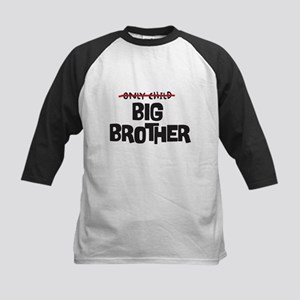 ONLY CHILD NOW BIG BROTHER Baseball Jersey