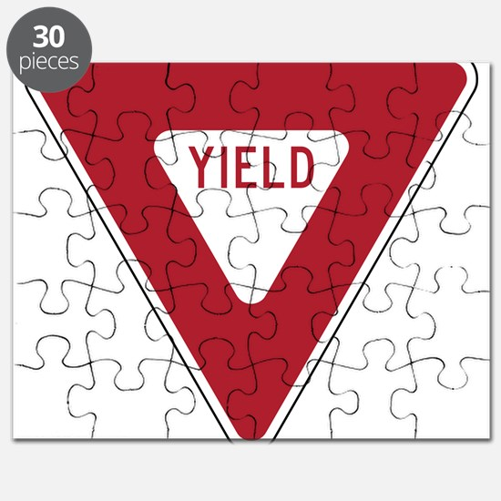 Yield Sign Puzzle