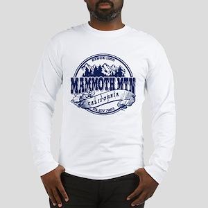 Mammoth Mtn Old Circle Blue Long Sleeve T-Shirt