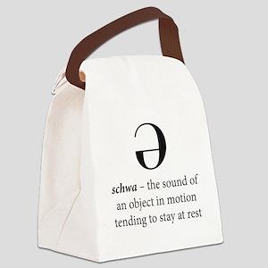 Schwa Canvas Lunch Bag