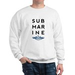 Submarine Stacked with Dolphins Sweatshirt